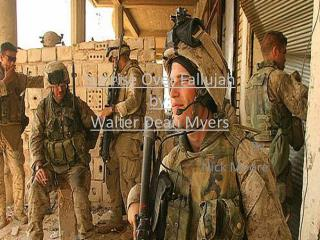 S unrise O ver Fallujah by: Walter Dean M yers