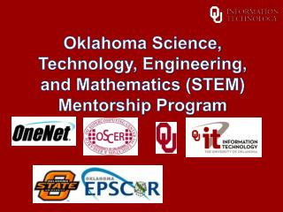 Oklahoma  Science, Technology, Engineering, and Mathematics (STEM) Mentorship  Program