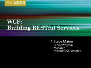 tl35: wcf: building restful services