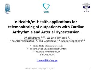 e-Health/m-Health applications for telemonitoring of outpatients with Cardiac Arrhythmia and Arterial Hypertension