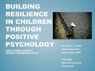 Building Resilience in Children Through Positive Psychology