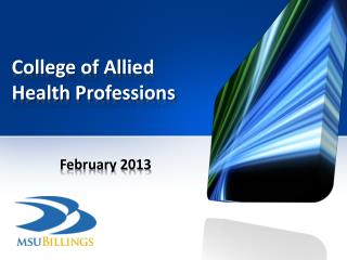 College of Allied Health Professions