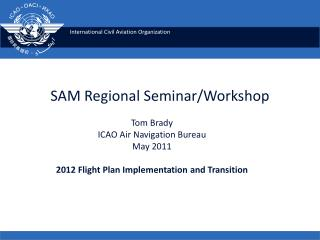 SAM Regional Seminar/Workshop