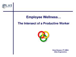 Employee Wellness… The Intersect of a Productive Worker