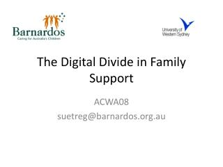The Digital Divide in Family Support