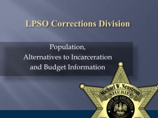 LPSO Corrections Division