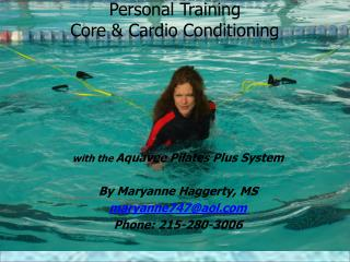 Personal Training  Core & Cardio Conditioning