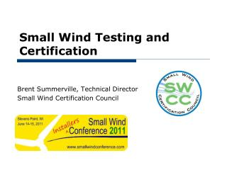 Small Wind Testing and Certification