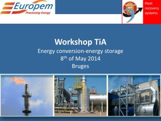 Workshop TiA Energy conversion-energy storage 8 th  of May 2014 Bruges