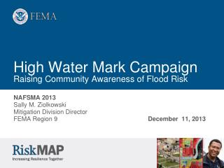 High Water Mark Campaign Raising Community Awareness of Flood Risk