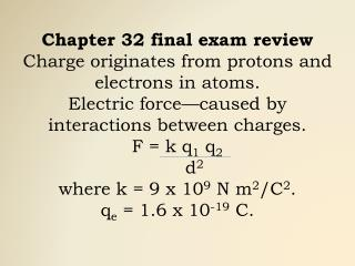 Calculate the force between two point charges of 20 and 40 Coulombs that are separated by 0.8 meters.