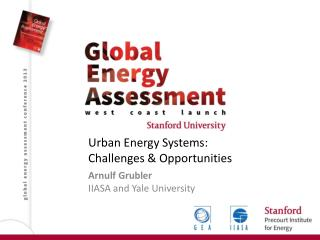 Urban Energy Systems: Challenges & Opportunities