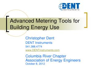 Advanced Metering Tools for Building Energy Use
