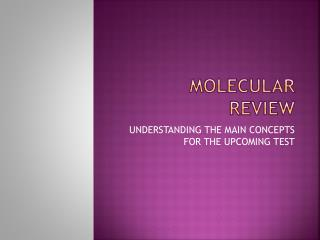 MOLECULAR REVIEW