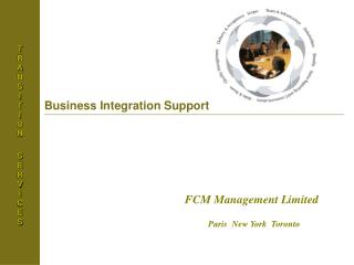 Business Integration Support