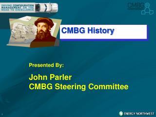 CMBG History