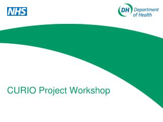 CURIO Project Workshop