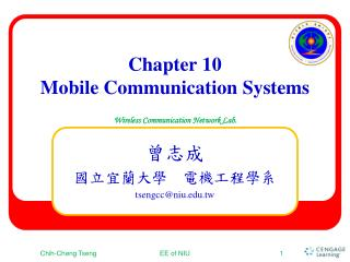 Chapter 10 Mobile  Communication Systems