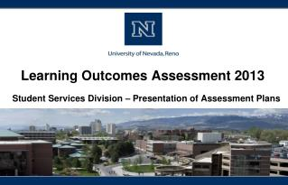 Learning Outcomes Assessment 2013