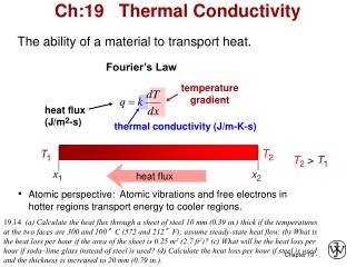 Ch:19   Thermal Conductivity