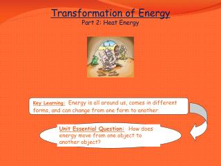 Transformation of Energy Part 2: Heat Energy