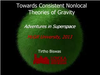 Towards Consistent Nonlocal Theories of Gravity