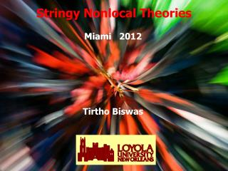 Stringy Nonlocal Theories
