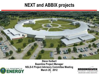 NEXT and ABBIX projects