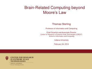 Brain-Related Computing beyond Moore's Law
