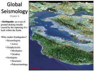 Global Seismology Chapter 4