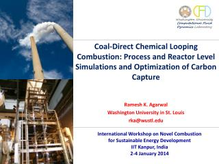 Coal-Direct Chemical Looping Combustion: Process and Reactor Level Simulations and Optimization of Carbon Capture
