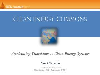 Clean Energy Commons