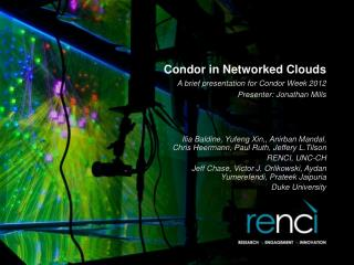 Condor in Networked Clouds