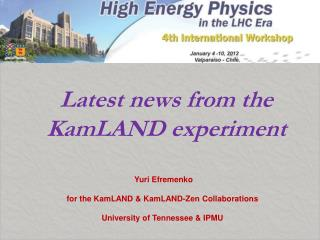 Latest news from the KamLAND experiment