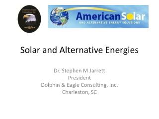 Solar and Alternative Energies