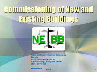 Commissioning of New and Existing Buildings