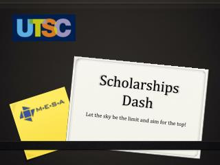 Scholarships Dash