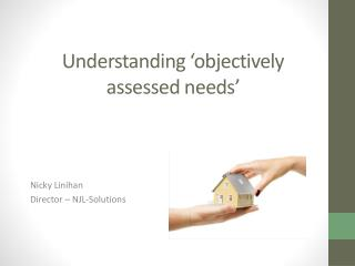 Understanding 'objectively assessed needs'