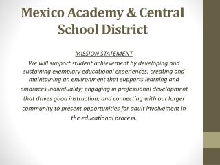 Mexico Academy & Central School District