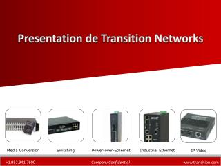 Presentation de Transition Networks