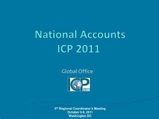 National  Accounts ICP 2011