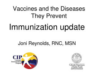 Vaccines and the Diseases They Prevent