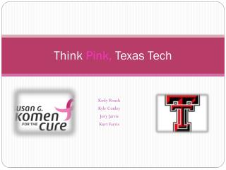 Think  Pink,  Texas Tech