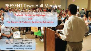 PRESENT Town Hall Meeting