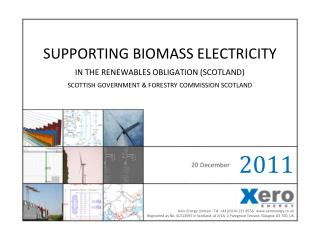 Supporting Biomass electricity