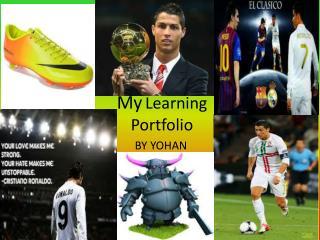 My Learning Portfolio