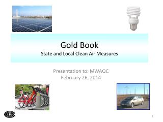 Gold Book State and Local Clean Air  Measures