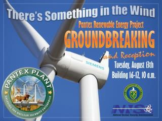 PANTEX  ENERGY RENEWABLE PROJECT(PREP)  John M. Herrera PREP Contracting Officer Representative & Project Manager john.