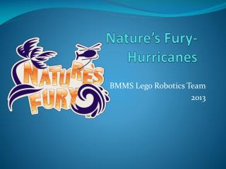 Nature's Fury- Hurricanes