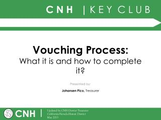 Vouching Process: What it is and how to complete it?